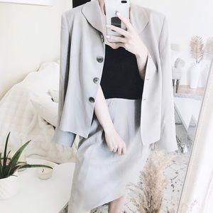 TAHARI Blazer & Skirt